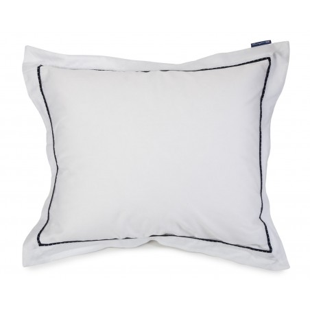 Lexington Sateen With Star Frame Pillowcase
