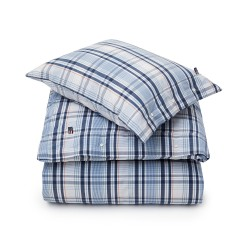 Lexington Madrass Check King Size Duvet Cover