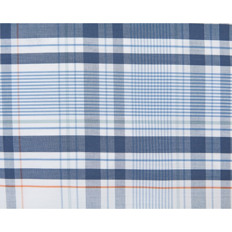 Lexington Madrass Check Super King Size Duvet Cover