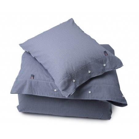 Lexington Seaside Navy and White Check Duvet