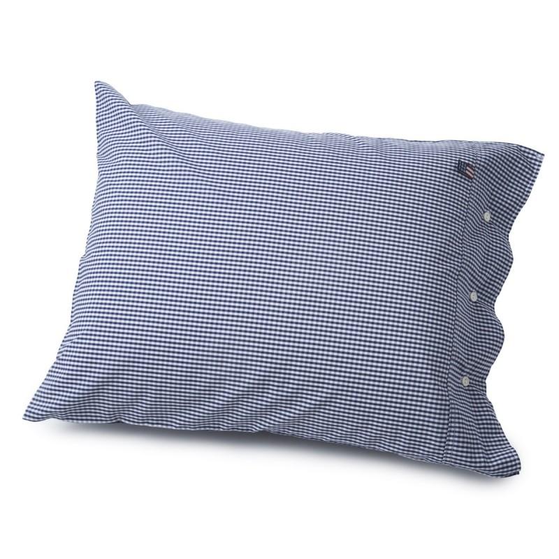 Lexington Seaside Navy and White Check Pillowcase