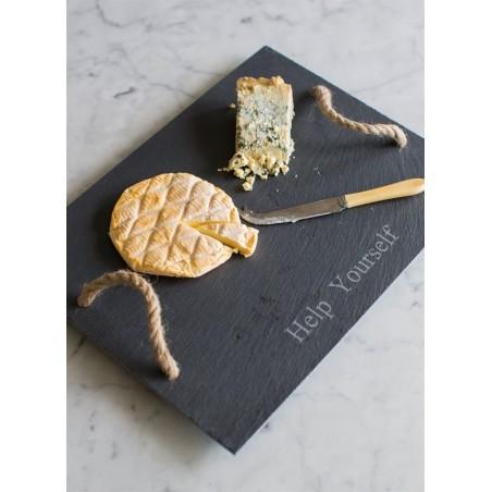 Garden Trading Cheeseboard with Handles - Slate