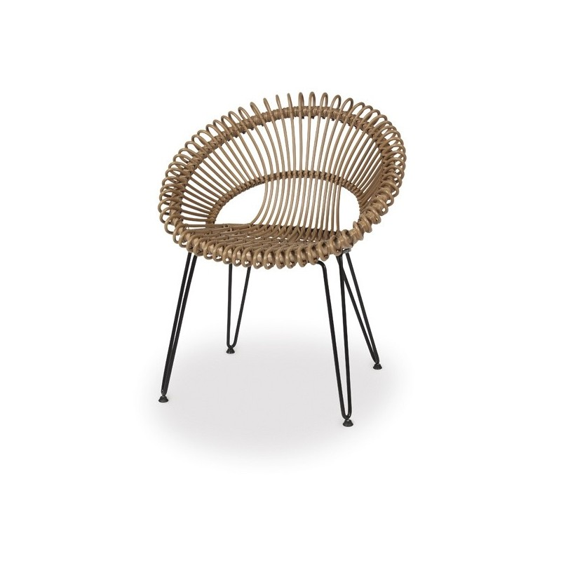 Vincent Sheppard Roxy Garden Dining Chair - Natural