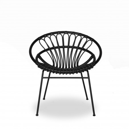 Vincent Sheppard Roxanne Lounge Chair - Black
