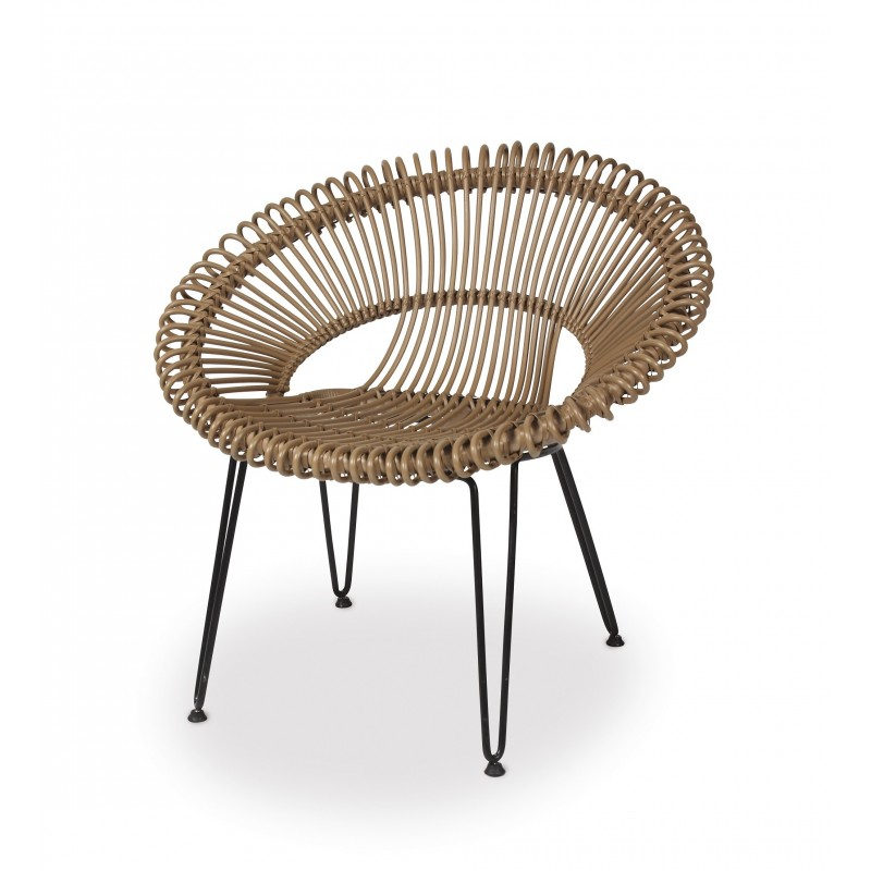 Vincent Sheppard Roy Outdoor Lazy Chair Camel