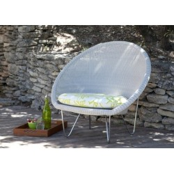 Vincent Sheppard Gipsy Cocoon Lounge Chair in Old Lace