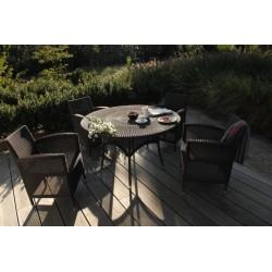 Vincent Sheppard Safi Garden Dining Table DIA 120 CM