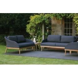 Safari Outdoor Sofa   Slate