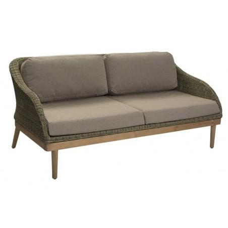 Safari Large Outdoor Sofa | Rattan and Teak