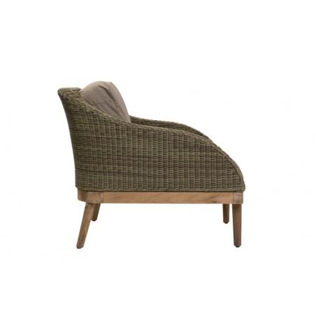 Safari Outdoor Armchair | Rattan and Teak