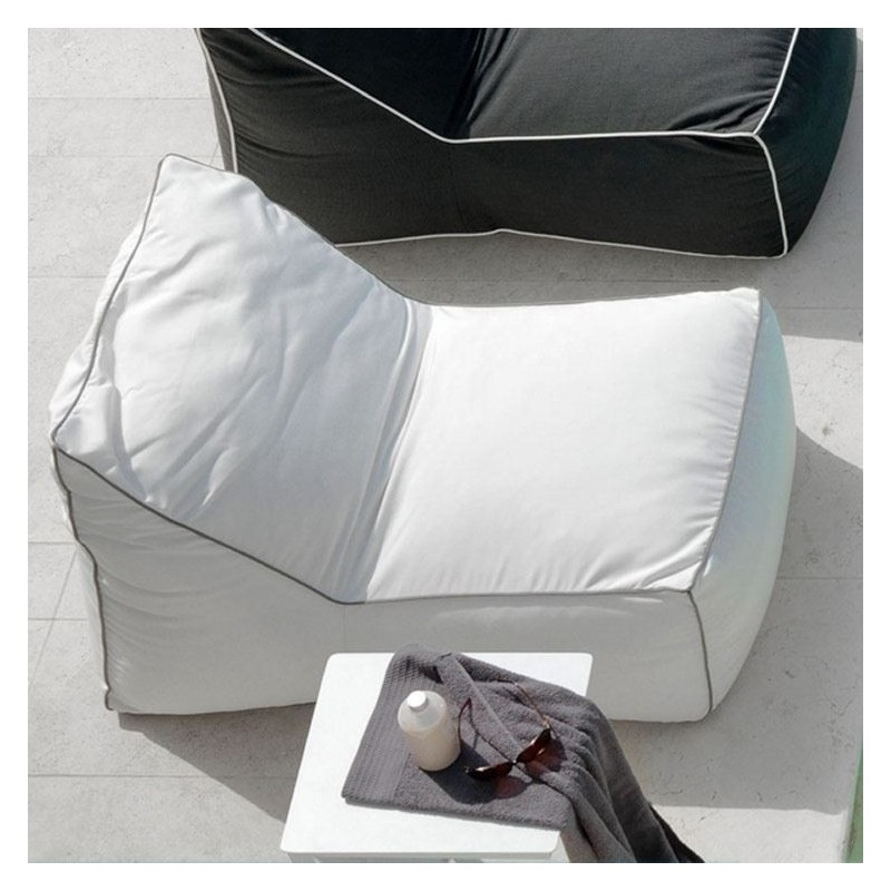 Talenti Lounge Sacco Outdoor Beanbag Sunbrella Coated