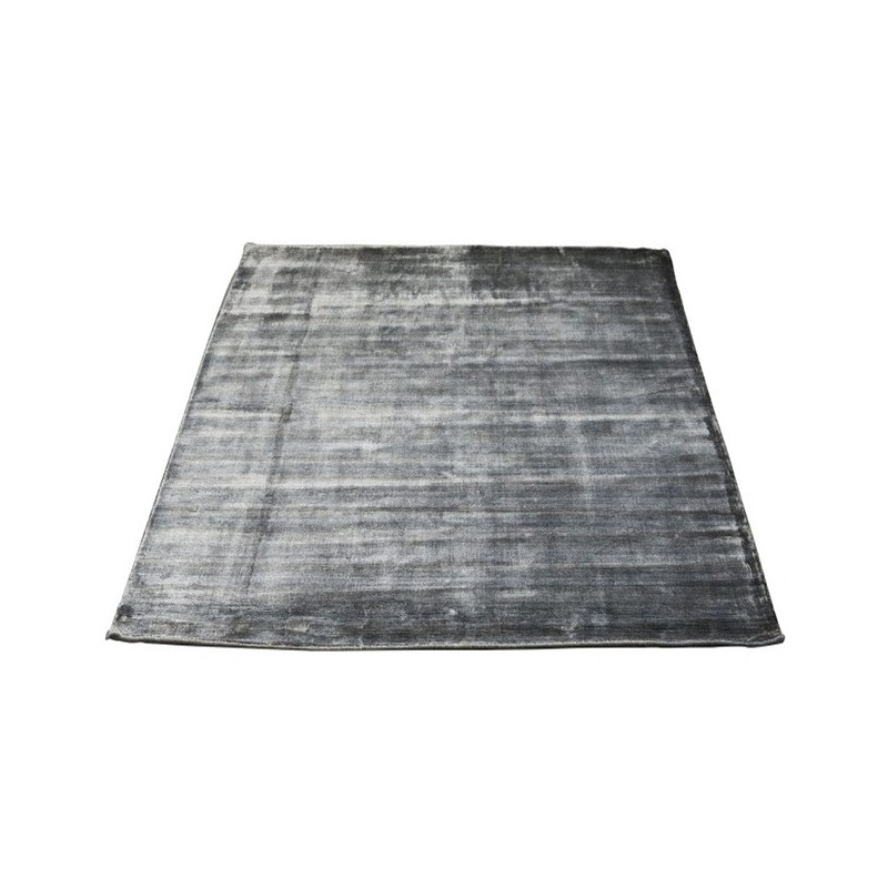 Massimo 100% Grey Bamboo Silk Rug | 6 Sizes