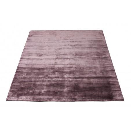 Massimo 100% Plum Bamboo Silk Rug | 6 Sizes