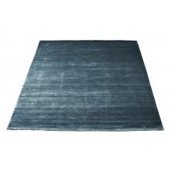 Massimo 100% Stiffkey Blue Bamboo Silk Rug | 6 Sizes