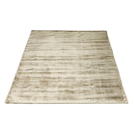 Massimo 100% Light Brown Bamboo Silk Rug | 6 Sizes