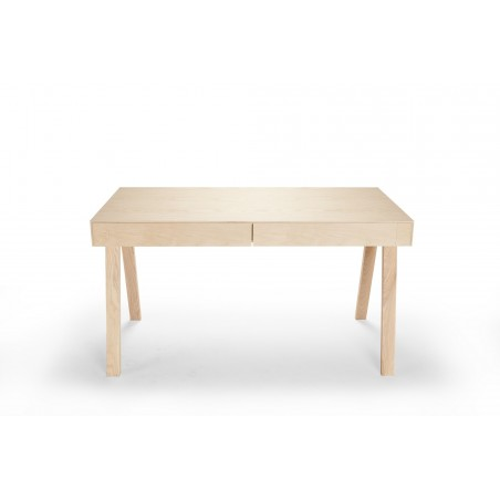 Emko 4.9 Desk With 2 drawers European Ash