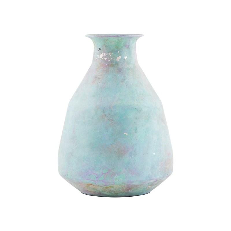 House Doctor Aluminium Blues Vase