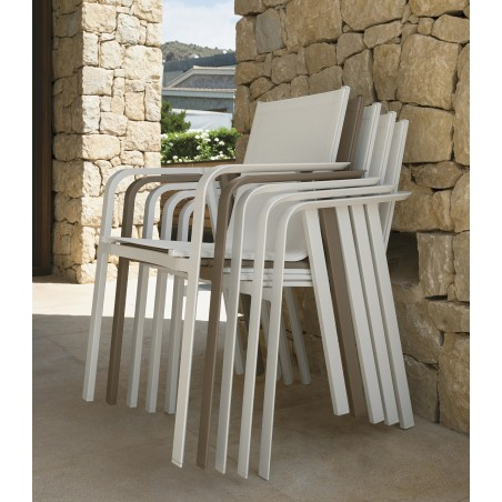 Talenti Milo Textilene Outdoor Dining Chair