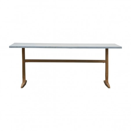 House Doctor Zinc Dining Table 200cm
