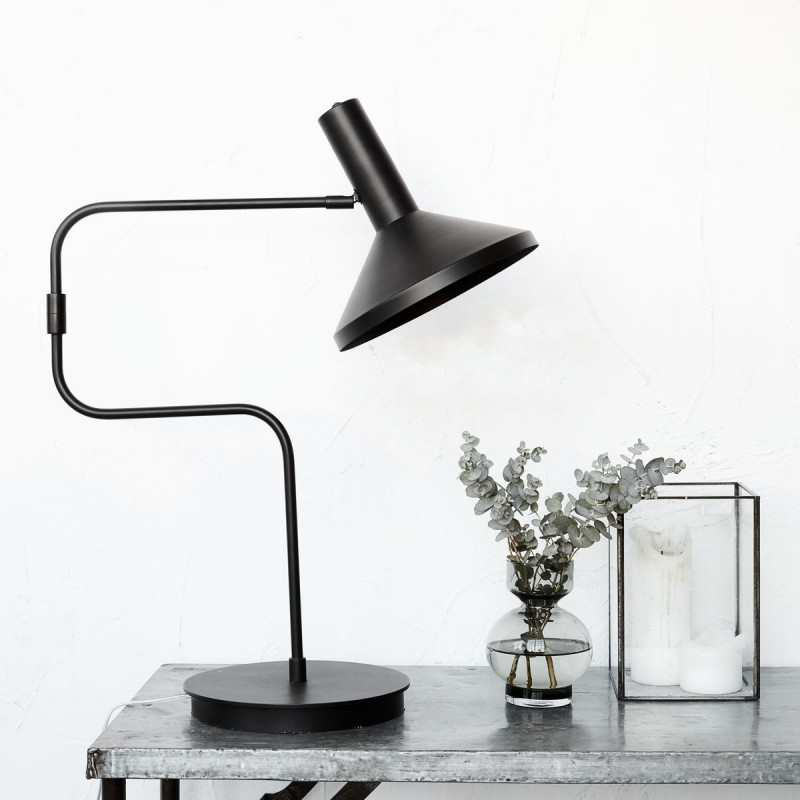 House Doctor Mall Made Black Table Lamp