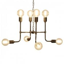 Culinary Concepts Matrix Pendant Light in Antique Brass Finish