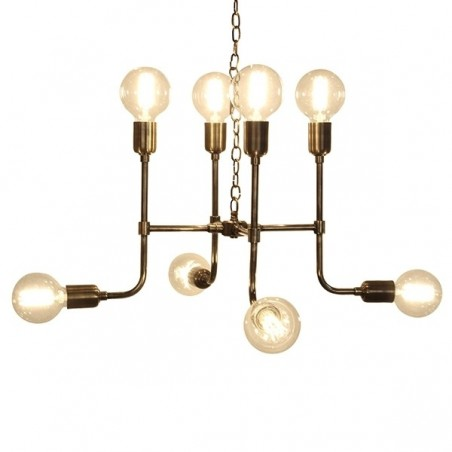 Culinary Concepts Matrix Pendant Light in Antique Brass Finish