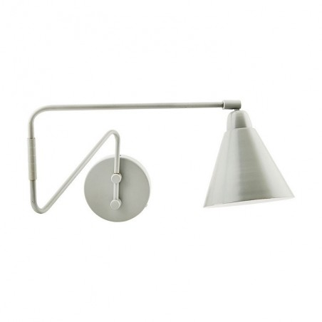 House Doctor Game Wall Lamp in Grey and White