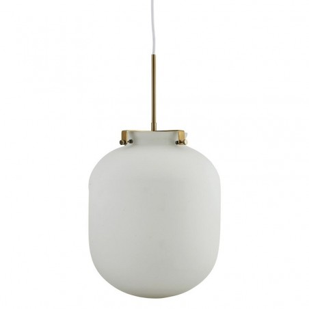 House Doctor Ball Pendant Lamp in White