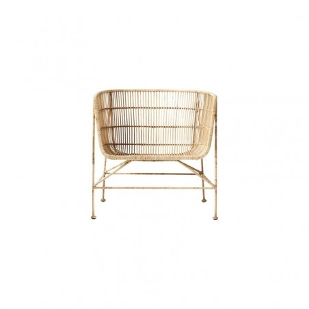 House Doctor Coon Armchair in Natural Rattan