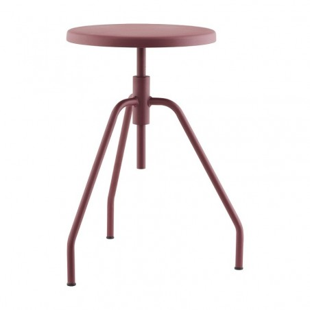 House Doctor Modern Rattan And Iron Natural Stool Rattan