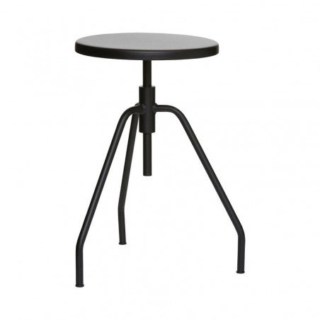 House Doctor Scarpa Stool in Black