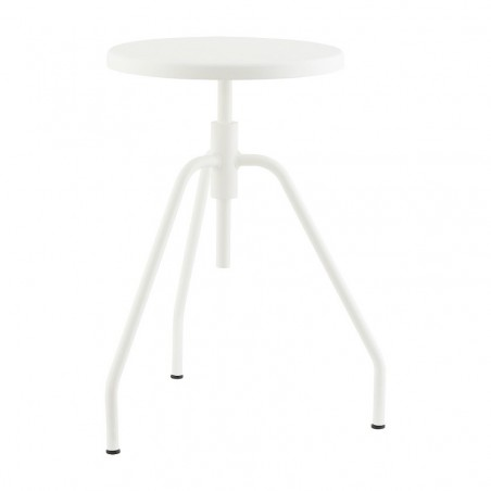 House Doctor Scarpa Stool in White