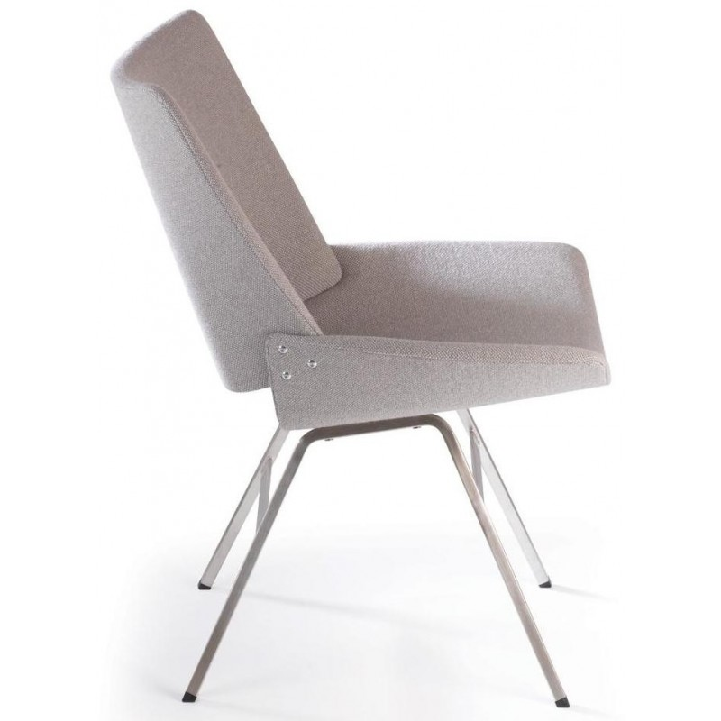Rex Kralj Shell Lounge Chair in Fabric