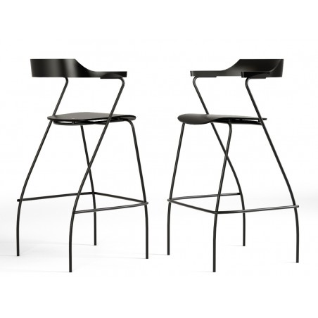 Rex Kralj Project Bar Chair | Black