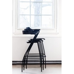 Rex Kralj Project Bar Chair | Black