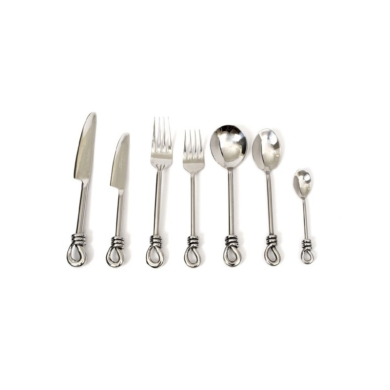 Culinary Concepts Polished Knot Seven Piece Place Setting