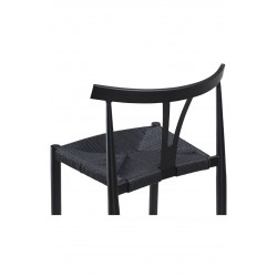 Alpha Barstool In Black by Dan-Form
