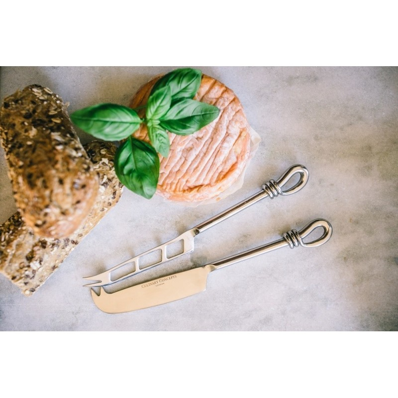 Polished Knot Traditional Cheese Soft Cheese Knife