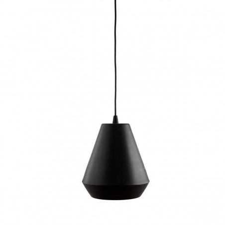 House Doctor Black Hood Pendant Lamp