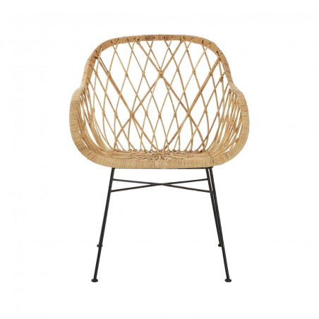 Natural Rattan Flower Chair