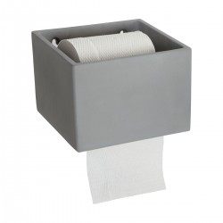 House Doctor Cement Toilet Roll Holder