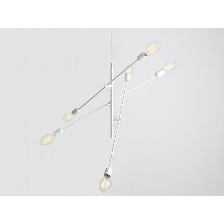 Custom Form TWIGO 6 Pendant Lamp white Color