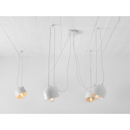 Custom Form POPO 4 Pendant Lamp white Color