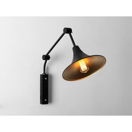 Custom Form Miller Wall Lamps | Black