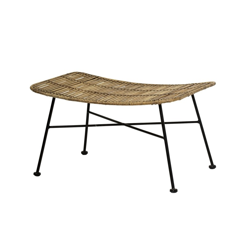 Bloomingville Dom Footrest Nature Rattan
