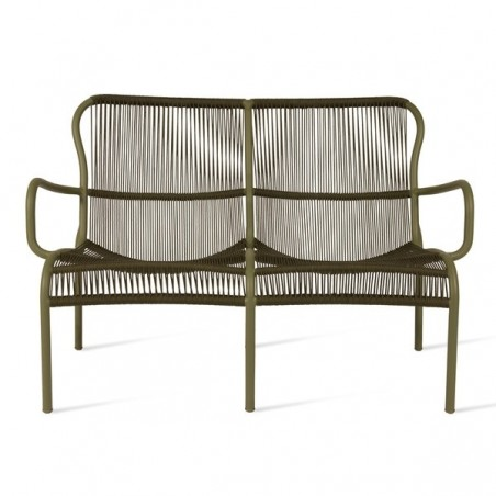 Vincent Sheppard Loop Outdoor Sofa Rope Moss