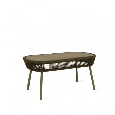 Vincent Sheppard Loop Outdoor Coffee Table Rope Moss