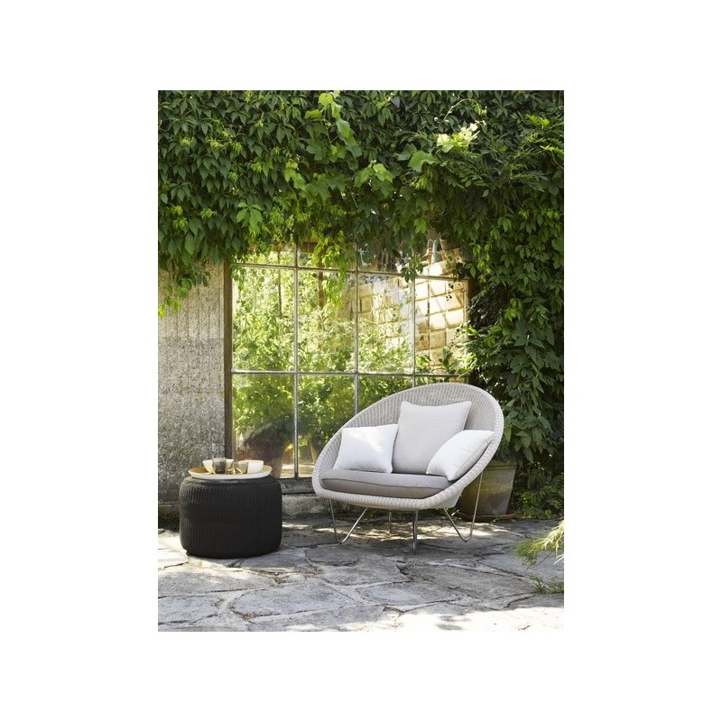 Vincent Sheppard Outdoor Pouf Otto Charcoal
