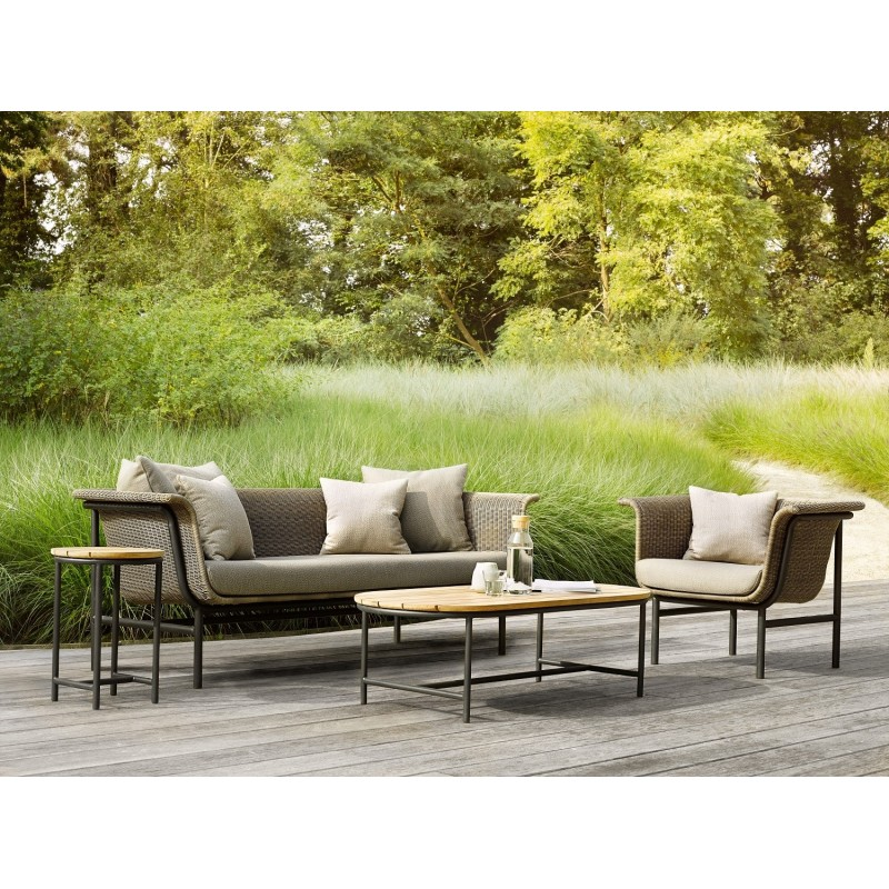 Vincent Sheppard Wicked Outdoor Sofa Taupe 3 Seater
