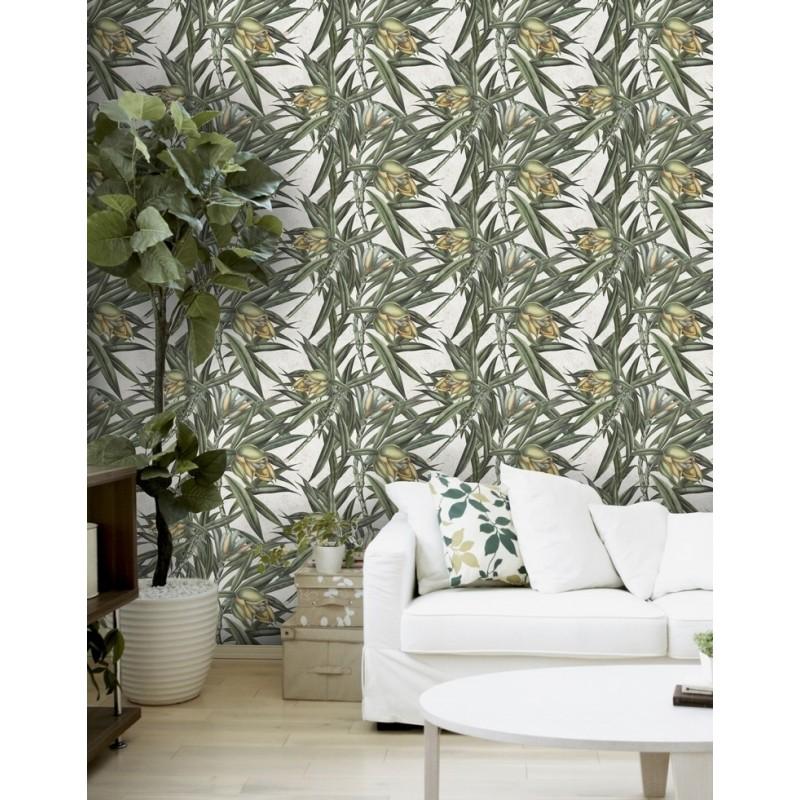 Mind The Gap Exotic Fruit 1 Designer Wallpaper